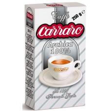Кофе молотый Carraro Arabica 100% (Карраро Арабика 100%), 250 г