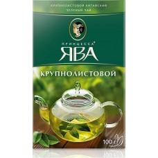 Чай зеленый листовой Принцесса Ява Крупнолистовой, 100 г
