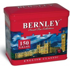 Чай черный листовой Bernley English Classic, ж/б, 150 г