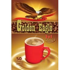 Кофейный напиток растворимый Golden Eagle 3 в 1, 50*20 г