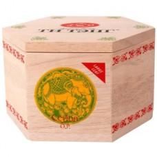 Чай весовой зеленый Ти Тэнг Ceylon O.P. в шестигранной деревянной коробке, 75 г