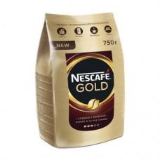 Кофе растворимый Nescafe Gold, м/у, 750 г