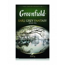 Чай черный листовой Greenfield Earl Grey Fantasy (Гринфилд Эрл Грей Фэнтази), 200 г