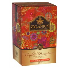 Чай черный листовой Zylanica Ceylon Premium Collection OPА 200 гр