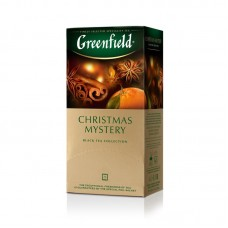 Чай черный в пакетиках для чашки Greenfield Christmas Mistery (Гринфилд Кристмас), 25*1,5 г