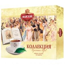 Набор чая в пакетиках для чашки 30 пакетиков Майский Коллекция Изысканных вкусов 30*2 гр.