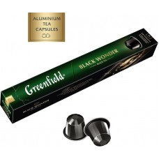 Чай в капсулах Nespresso Greenfield Black Wonder (Блэк Вандэ), 10*2,5 г