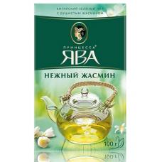 Чай зеленый листовой Принцесса Ява Нежный жасмин, 100 г