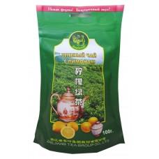 Чай зеленый листовой Верблюд Лимон, м/у, 100 г