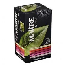 Чай зеленый в пакетиках для чашки Maitre Ассорти Чайный букет, 25*2 г