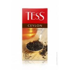 Чай черный в пакетиках для чашки Tess Ceylon (Тесс Цейлон), 25*2 г