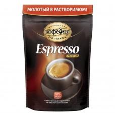 Кофе растворимый Московская кофейня на паяхъ Espresso, м/у, 95 г