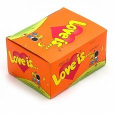 Жевательная резинка Love is Апельсин-Ананас, 100*4,2 г