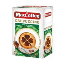 Кофейный напиток растворимый MacCoffee Капучино Айриш крим 3 в 1, 12,5*10 г