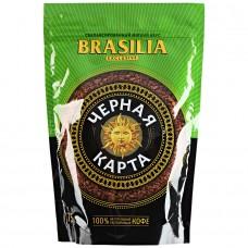 Кофе растворимый Черная карта Exclusive Brasilia, м/у, 75 г