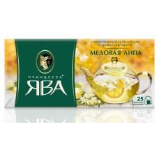 Чай зеленый в пакетиках для чашки Принцесса Ява Медовая липа, 25*1,5 г