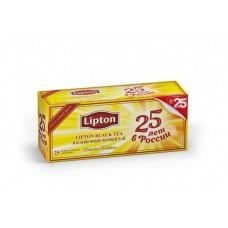 Чай черный в пакетиках для чашки Lipton, 25*2 г
