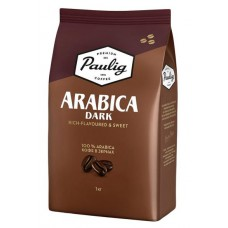 Кофе в зернах Paulig Arabica Dark (Паулиг Арабика Дарк), 1 кг