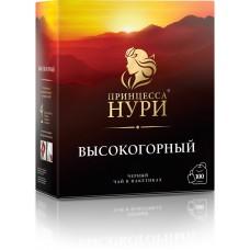 Чай черный в пакетиках для чашки Принцесса Нури Высокогорный, с/я, 100*2 г