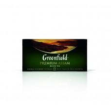 Чай черный в пакетиках для чашки Greenfield Premium Assam (Гринфилд Премиум Ассам), 25*2 г