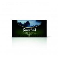 Чай черный в пакетиках для чашки Greenfield Magic Yunnan (Гринфилд Меджик Юньнань), 25*2 г