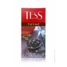 Чай черный в пакетиках для чашки Tess Thyme (Тесс Тайм), 25*1,5 г