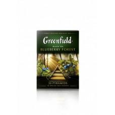 Чай черный в пирамидках Greenfield Blueberry Forest (Гринфилд Блюберри Форест), 20*1,8 г