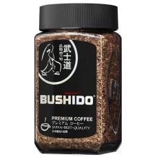 Кофе растворимый Bushido Блэк, банка, 50 г