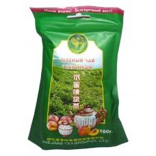 Чай зеленый листовой Верблюд Персик, м/у, 100 г