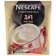 Кофейный напиток растворимый Nescafe 3 в 1 Мягкий, 20*16 г
